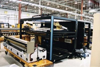 VLF Platesetter interior