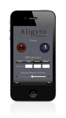 Aligyro iPhone Settings